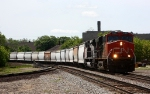 New CN power leads an eastbound